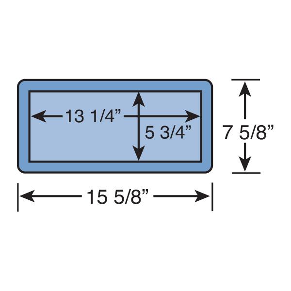 small rectangle niche