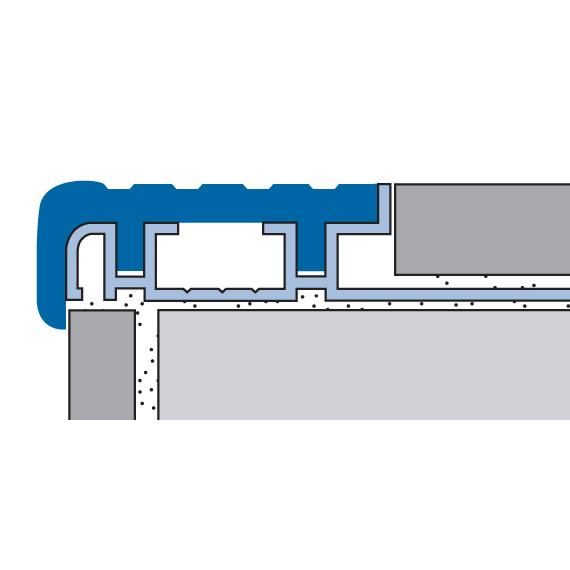 Hybrid Stair Nose & End Cap