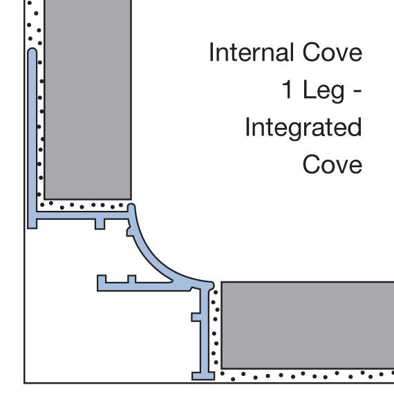 Internal Cove 1 Leg - Integrated Cove